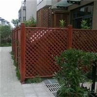 温州防腐木护栏安装