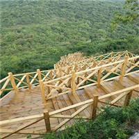 温州防腐木护栏厂家