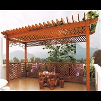 温州防腐木花架安装