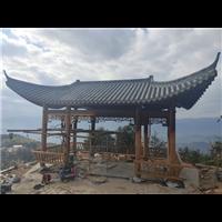 温州防腐木凉亭安装