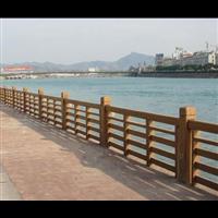 成都河道仿木护栏q德阳仿木栏杆