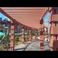 宁夏塑木花架安装