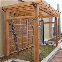 福州防腐木花架安装