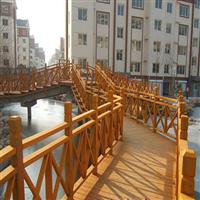 西宁防腐木围栏