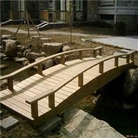 赣州防腐木木桥安装