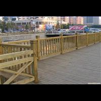 赣州防腐木护栏