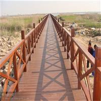 赣州防腐木护栏安装