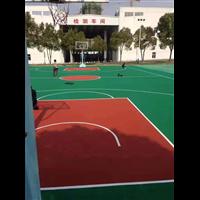 浙江硅pu球场施工