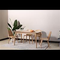 奶茶店实木餐桌椅茶餐厅北欧风餐椅深圳厂家定做