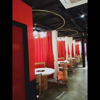 火鍋店烤魚店餐桌椅實木中式餐椅款式價格宜尚家具定做