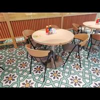 東南亞餐桌椅越南菜泰國菜餐桌帶抽屜實木桌子宜尚定做