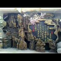 宜君塑石假山施工h西安假山塑石施工队