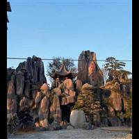 西安假山塑石施工队s西安假山塑石施工