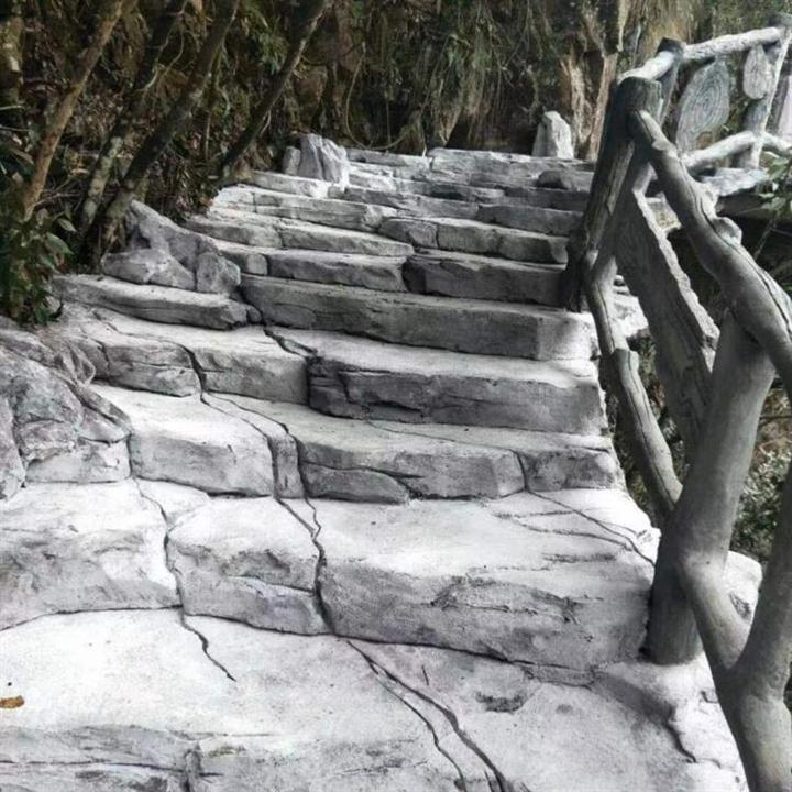 西安假山塑石施工队c西安塑石假山