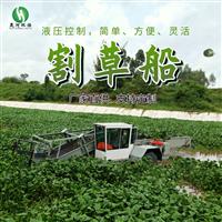 青州晟河水草破碎割草船水面清淤设备割草船生产厂家