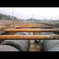 鋼板樁施工現場