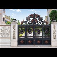 张家界别墅庭院门