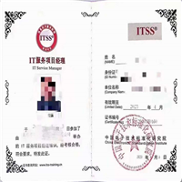 新疆IT服务工程师证书