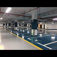 长沙总部基地停车场环氧砂浆平涂