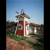 新疆防腐木风车