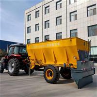 三农公路白灰撒布机稳定土灰料撒铺专用设备