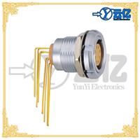供应ZCG弯角8芯固定式插座