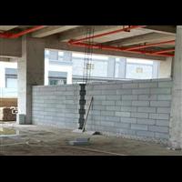 遵義輕質磚隔墻施工