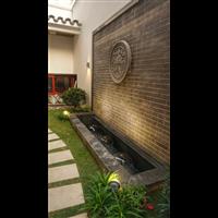 惠州山水江南花园景观现代中式花园造景服务